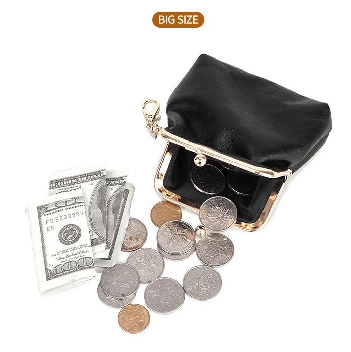 小銭入れ がま口 大 キャメル コインケース 財布 シンプル 小物入れ ポーチ おしゃれ かわいい 小さい 収納 便利 即納 格安