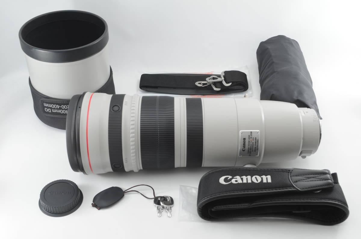 ★超美品★ Canon キヤノン EF 200-400mm F4 L IS USM EXTENDER1.4× ★使用感少ない一品