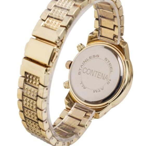 Contena 時計 女性 レディース クォーツ ラインストーン 腕時計 ウォッチ S2153_画像2
