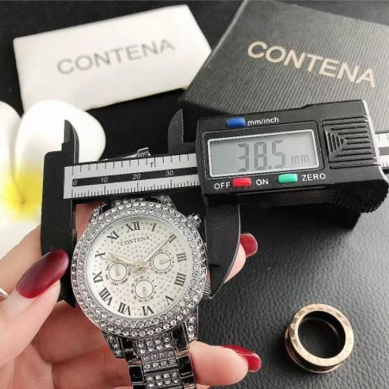 Contena 時計 女性 レディース クォーツ ラインストーン 腕時計 ウォッチ S2153_画像4