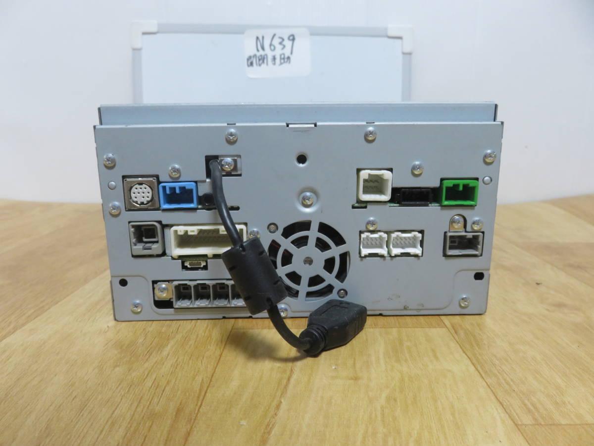 N639 VW純正ワイドSSDナビ 2012年  J0VDC2JP6/Bluetooth内蔵 TV地デジフルセグ内蔵 DVDビデオ再生  CD録音 新東名高速  _画像10