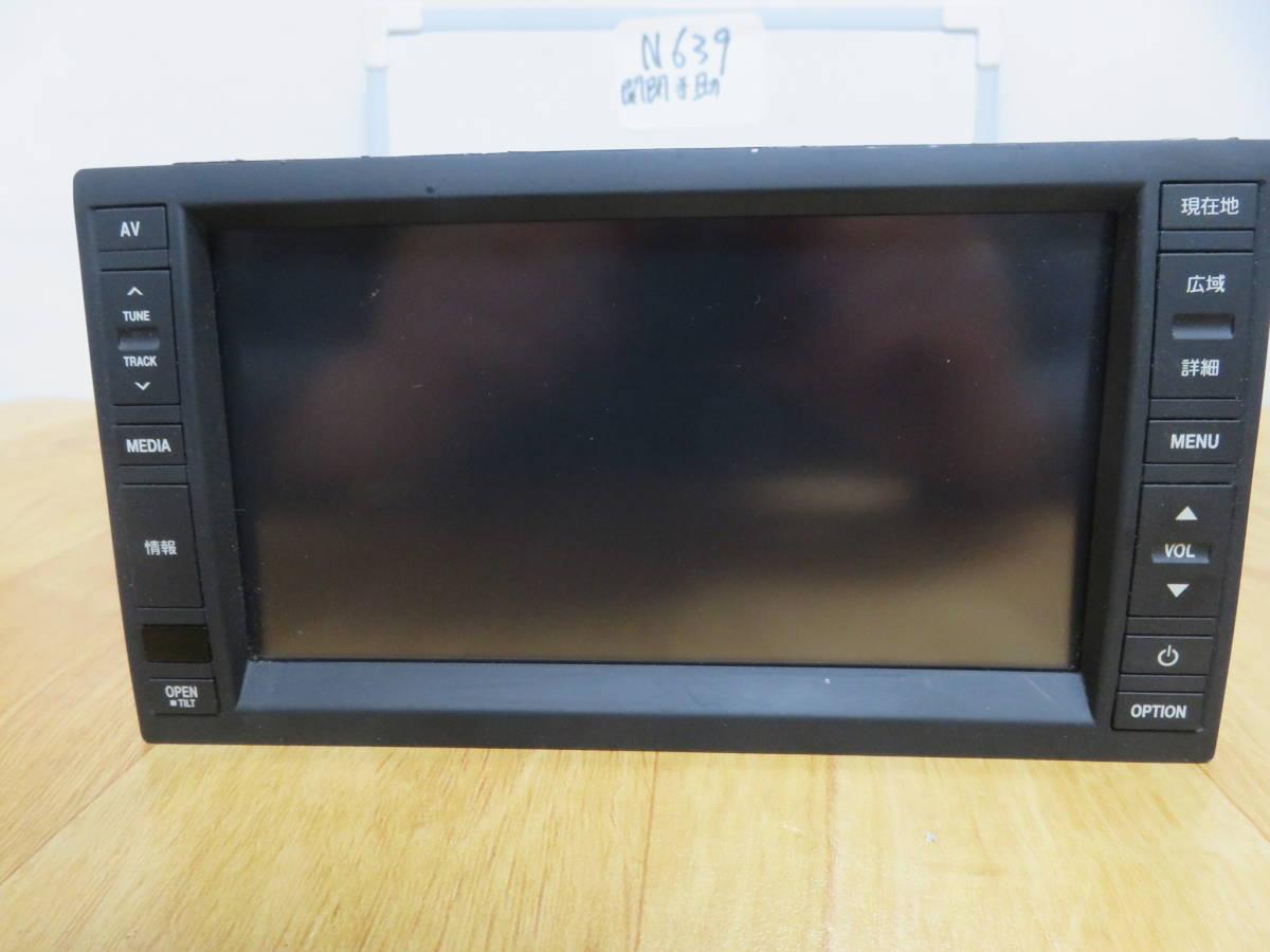N639 VW純正ワイドSSDナビ 2012年  J0VDC2JP6/Bluetooth内蔵 TV地デジフルセグ内蔵 DVDビデオ再生  CD録音 新東名高速  _画像6