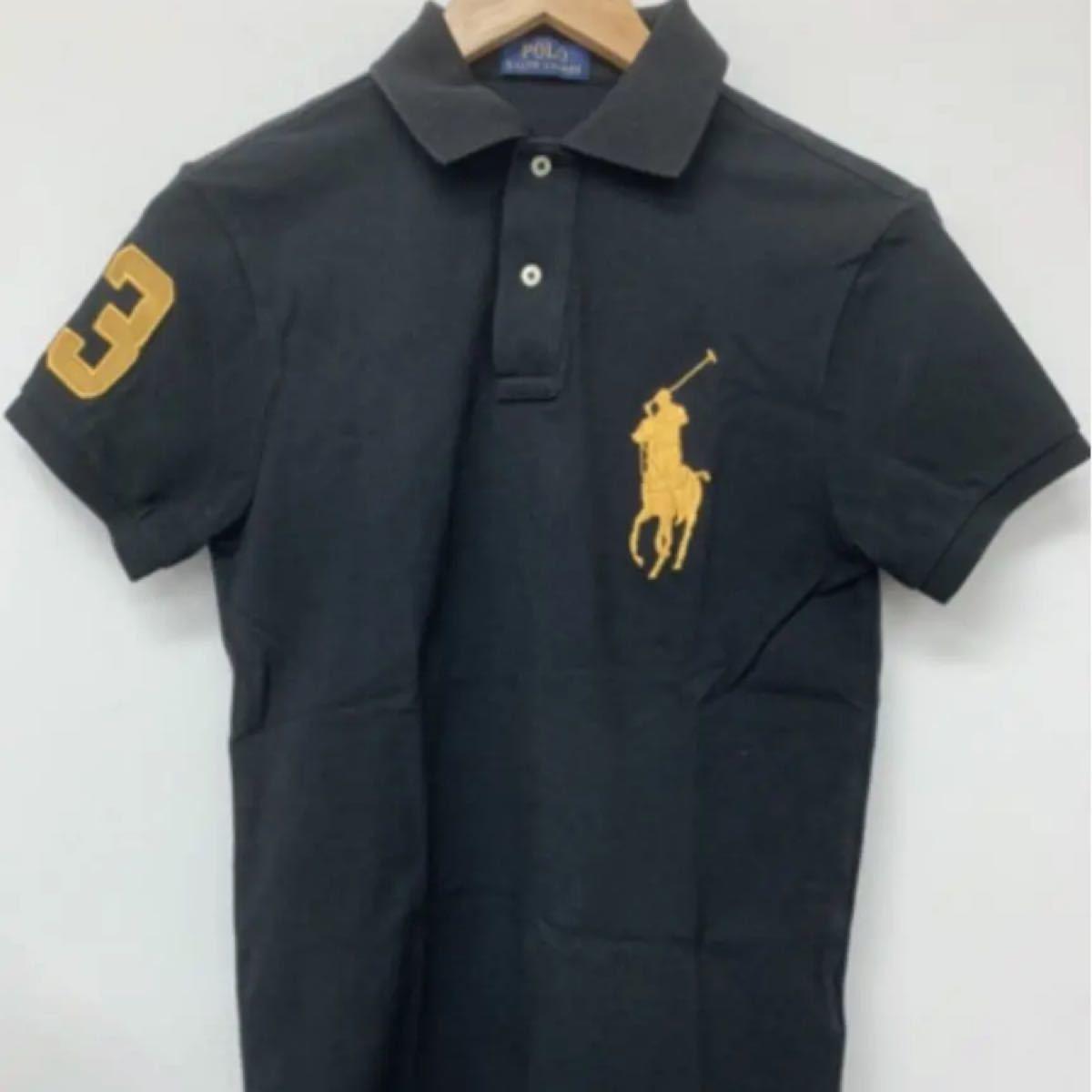 ポロラルフローレン ポロシャツ 黒 ブラック