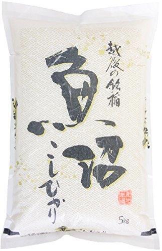 送料無料 【精米】魚沼産 無洗米 コシヒカリ 5kg 令和元年産_画像1