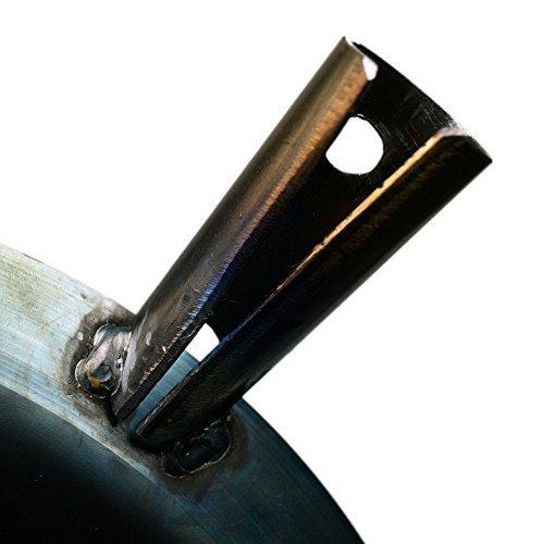 シルバー Bush Craft(ブッシュクラフト) たき火フライパン 10-03-orig-0002_画像8