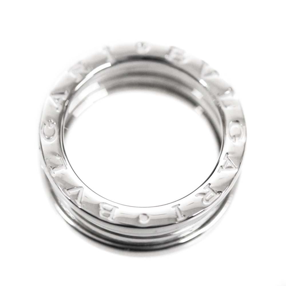 即決 ブルガリ B-zero1 ビーゼロワン 750WG #50 リング・指輪 レディース K18ホワイトゴールド ジュエリー 9.5号 K18WG_画像6