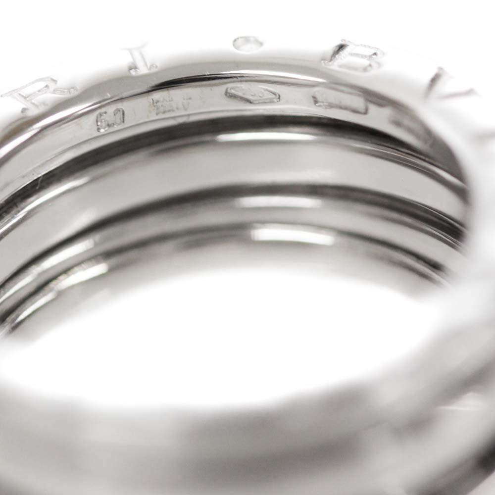 即決 ブルガリ B-zero1 ビーゼロワン 750WG #50 リング・指輪 レディース K18ホワイトゴールド ジュエリー 9.5号 K18WG_画像7