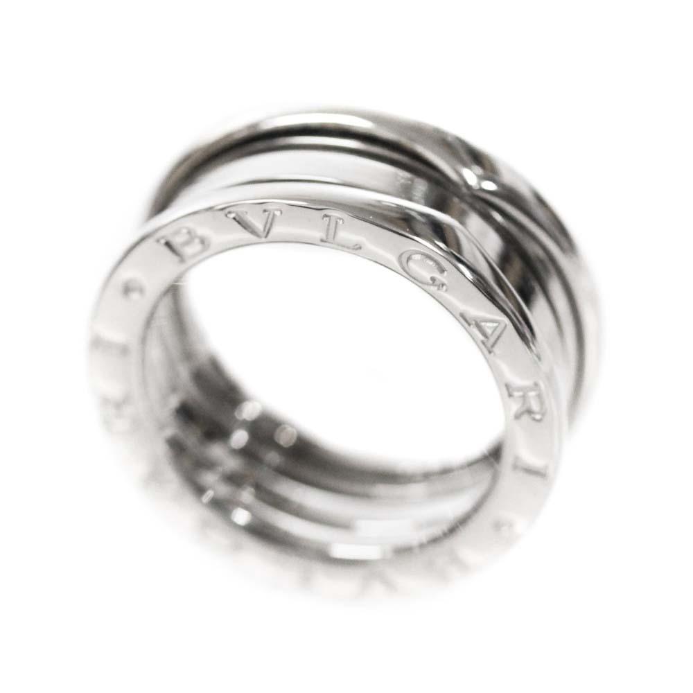即決 ブルガリ B-zero1 ビーゼロワン 750WG #50 リング・指輪 レディース K18ホワイトゴールド ジュエリー 9.5号 K18WG_画像2