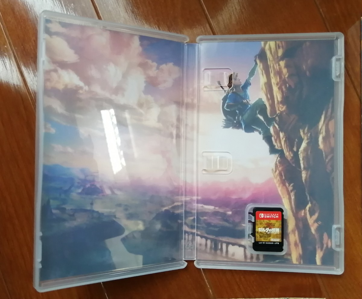 任天堂スイッチPS4 ゼルダの伝説ブレスオブザワイルド ガイドブック、マップ付き