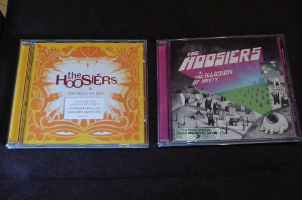 The Hoosiers アルバム2枚セット Trick To Life, The Illusion of Safety