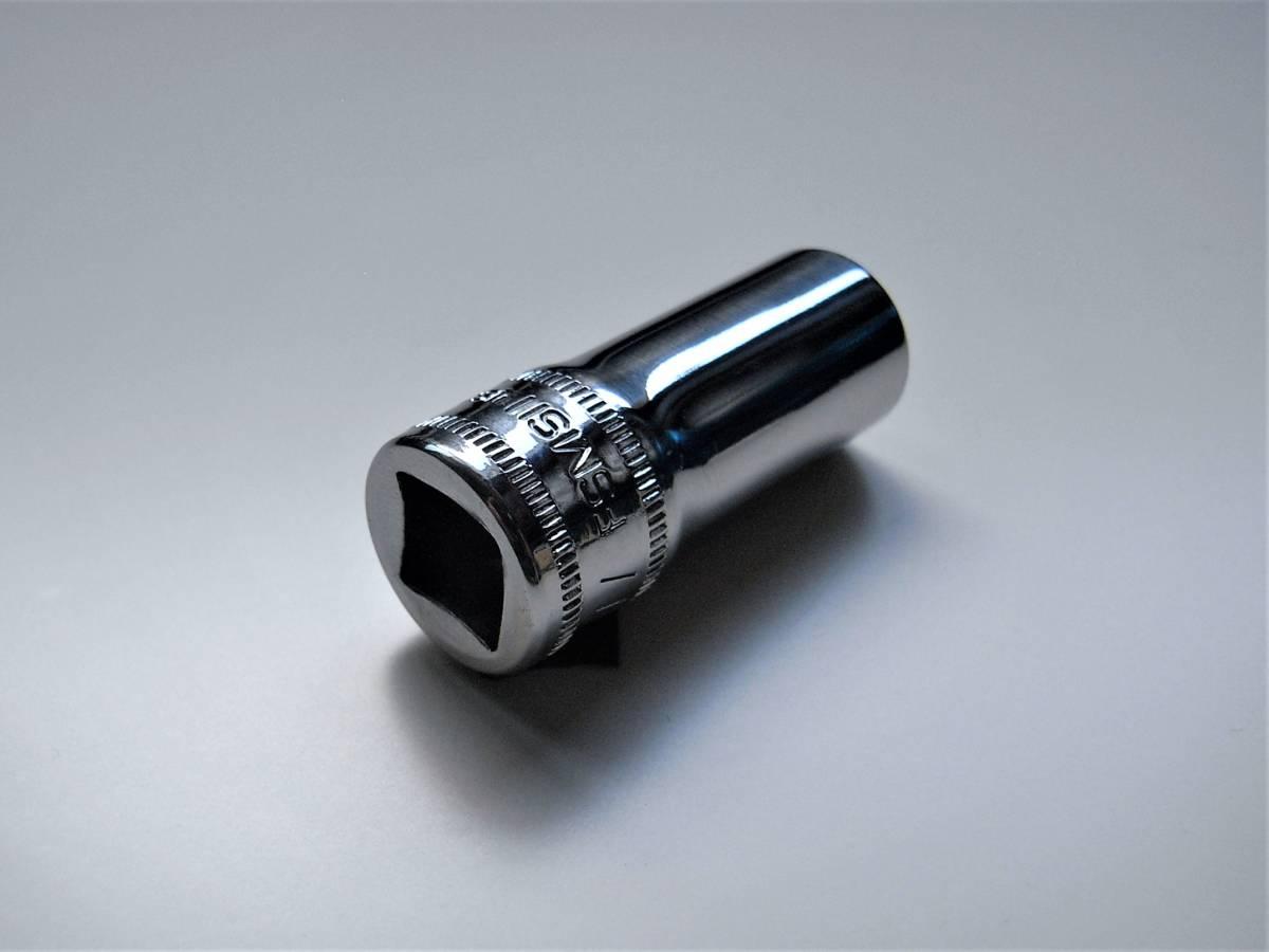 【2004年製】スナップオン Snap-on セミディープソケット 11mm 3/8sq【FSMS11】_画像1