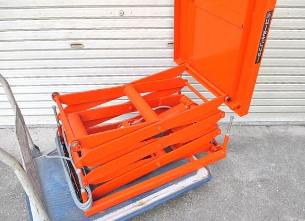 東正車輪 電動油圧リフト ゴールドリフター 耐荷重100kg 200V 三相 (571)_画像4