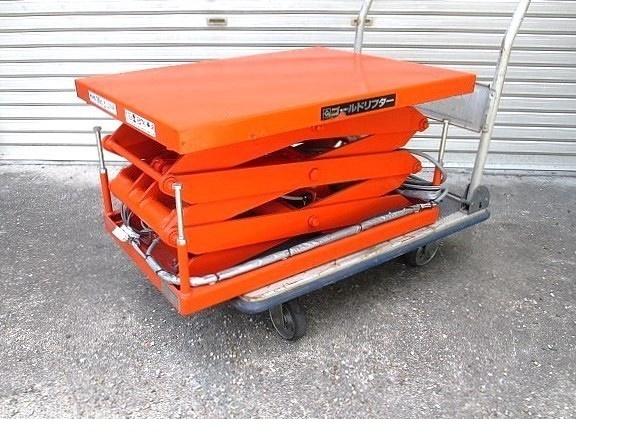 東正車輪 電動油圧リフト ゴールドリフター 耐荷重100kg 200V 三相 (571)_画像2