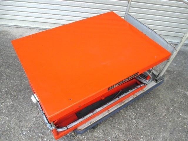 東正車輪 電動油圧リフト ゴールドリフター 耐荷重100kg 200V 三相 (571)_画像6