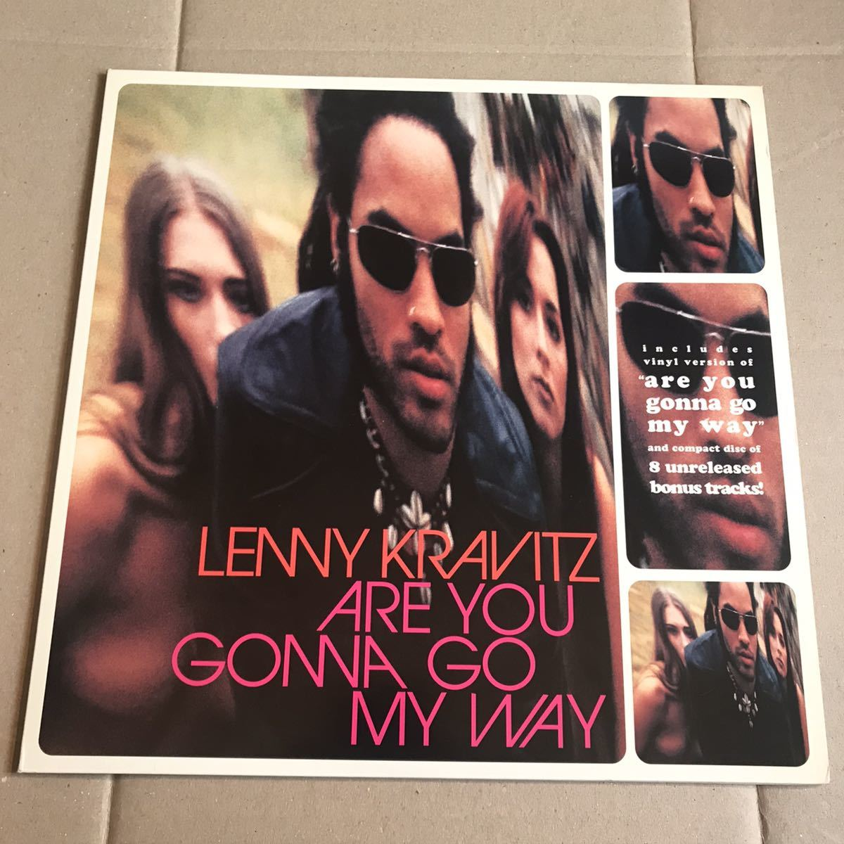LENNY KRAVITZ ARE YOU GONNA GO MY WAY 限定盤 CLEAR LP+CD レニー・クラヴィッツ_画像1
