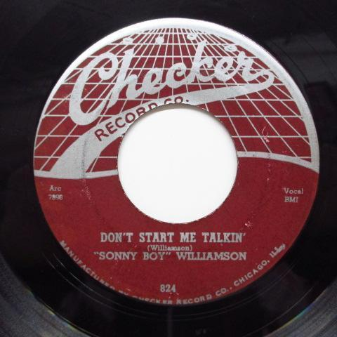 SONNY BOY WILLIAMSON-Don't Start Me Talkin' (Orig)_画像1