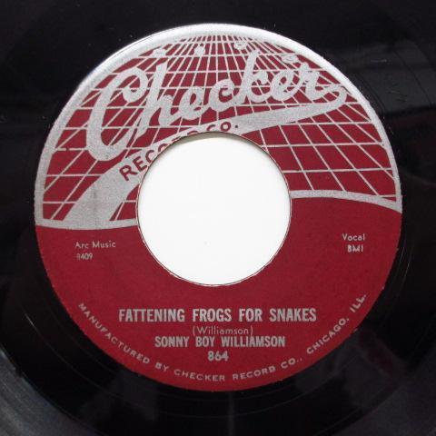 SONNY BOY WILLIAMSON-Fattening Frogs For Snakes (Orig)_画像1