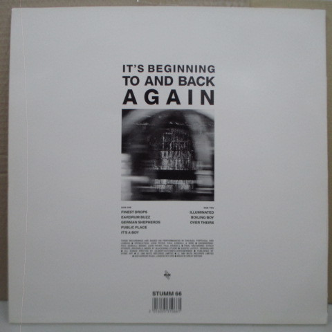 WIRE☆It's Beginning To And Back Again☆貴重89年UKオリジLP☆_画像2