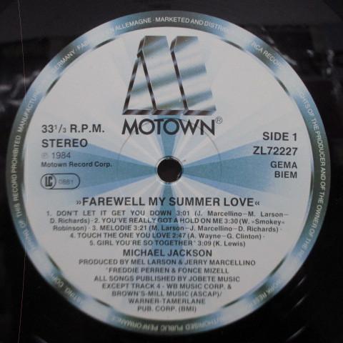 Farewell My Summer Love☆貴重84年UK/EUオリジLP☆_画像3