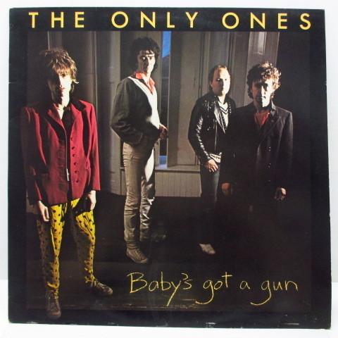 ONLY ONES☆Baby's Got A Gun☆貴重80年UKオリジLP☆_画像1