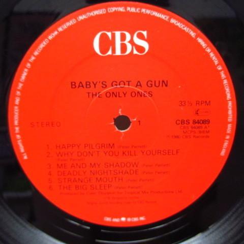 ONLY ONES☆Baby's Got A Gun☆貴重80年UKオリジLP☆_画像3