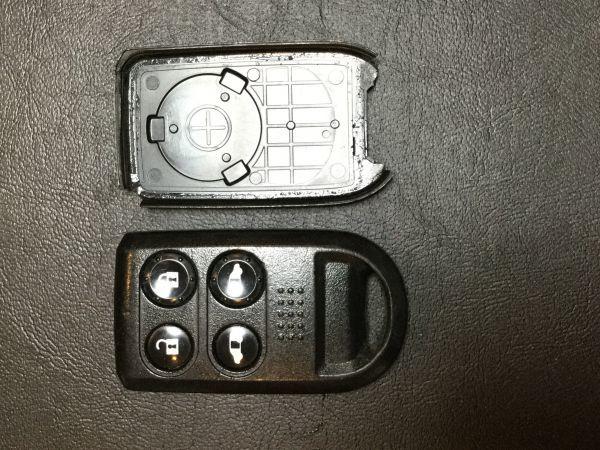 ※HD8276 送料全国一律180円 ホンダ キーレス リモコン 4B 4つボタン 純正 ステップワゴン エリシオン フリード 等_画像1