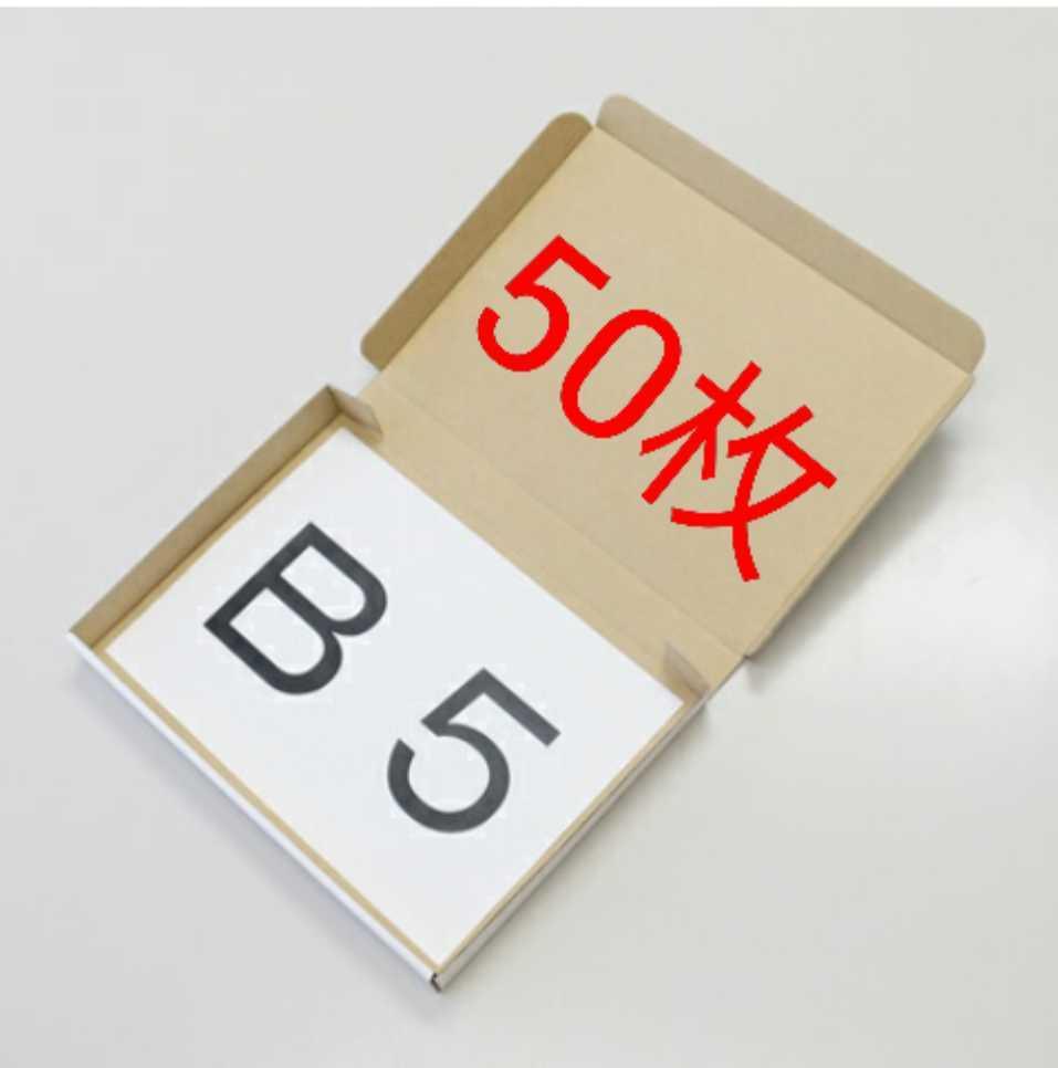B5 サイズ ダンボール 箱 梱包資材 ゆうパケット ネコポス クリックポスト_画像1