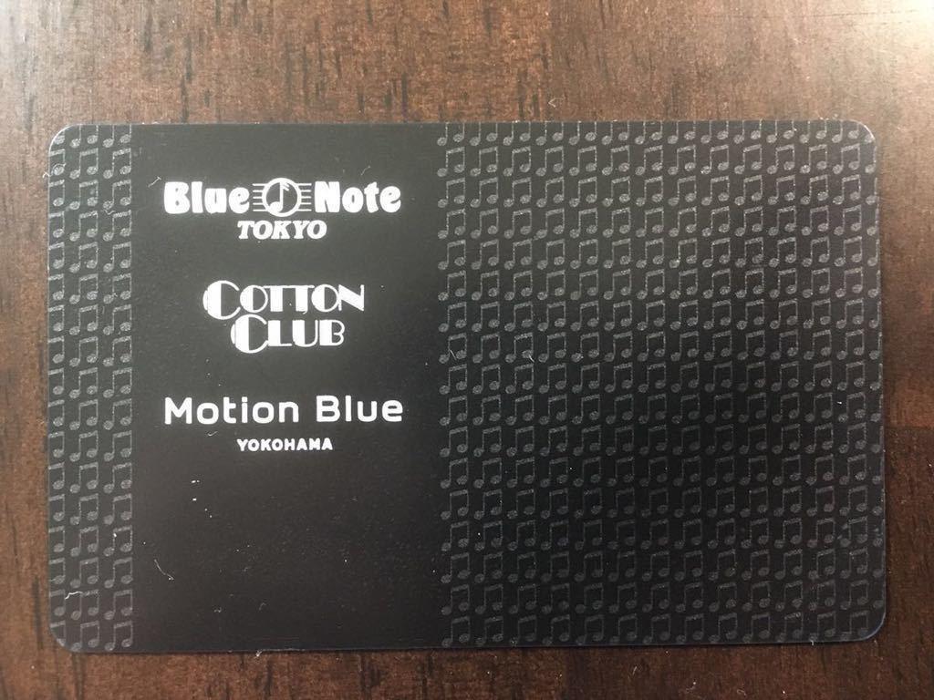 ブルーノート東京ギフトカード 2万円分 レターパックライト送料込み_画像1