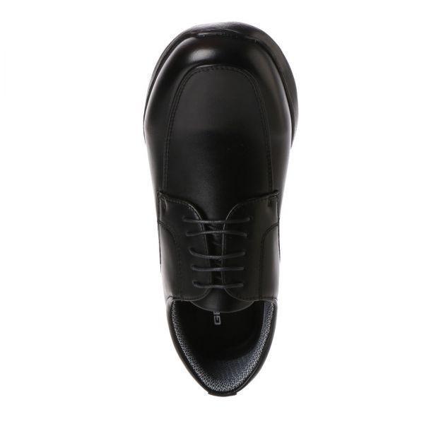 【安い】【超軽量】【防水】【幅広】GRAVITY FREE メンズ ウォーキング ビジネスシューズ 紳士靴 革靴 401 Uチップ ブラック 黒 25.0cm