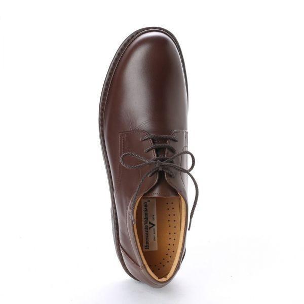 【安い】金谷製靴 リナシャンテ バレンチノ Rinescante Valentiano ビジネス ウォーキング シューズ プレーントゥ 4E 3023 ブラウン 24.5cm