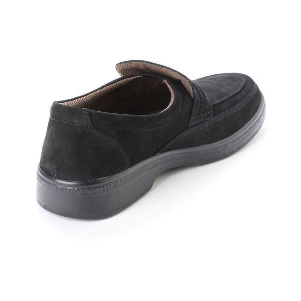 【安い】【おすすめ】【日本製】メンズ ビジネス ウォーキングシューズ 紳士靴 革靴 本革 4E 1070 スリッポン ブラック 黒 27.0cm