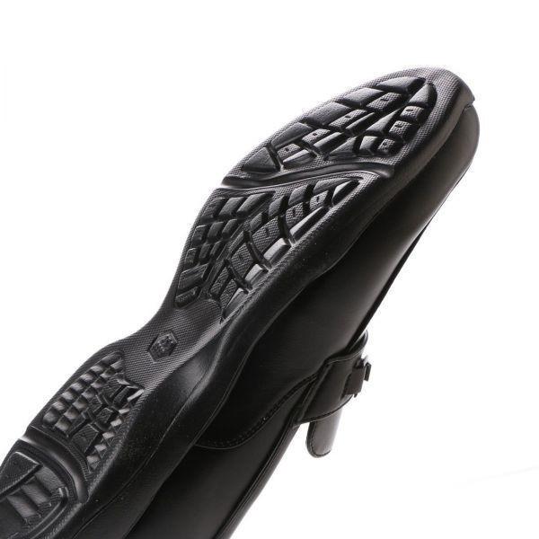 【安い】【超軽量】【防水】【幅広】GRAVITY FREE メンズ ウォーキング ビジネスシューズ 紳士靴 革靴 403 ビット ブラック 黒 26.5cm