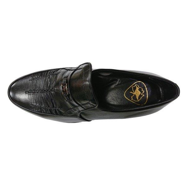 【本革】【安い】【カンガルー革】【日本製】メンズ ビジネスシューズ シャーリング 紳士靴 革靴 1141 ブラック 黒 26.0cm