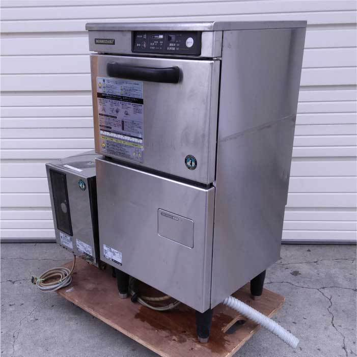 【送料無料】 ホシザキ 食器洗浄機 電気ブースター使用 JW-300TF 2005年式 中古 お客様荷下ろし 【見学 札幌】_画像3