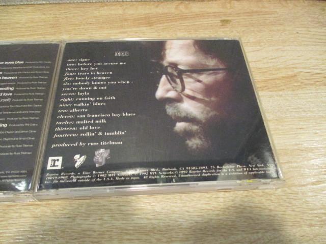 2CD エリック・クラプトン/ BEST OF と アンプラグド~アコースティック・クラプトン 歌詞・対訳付き。_画像6