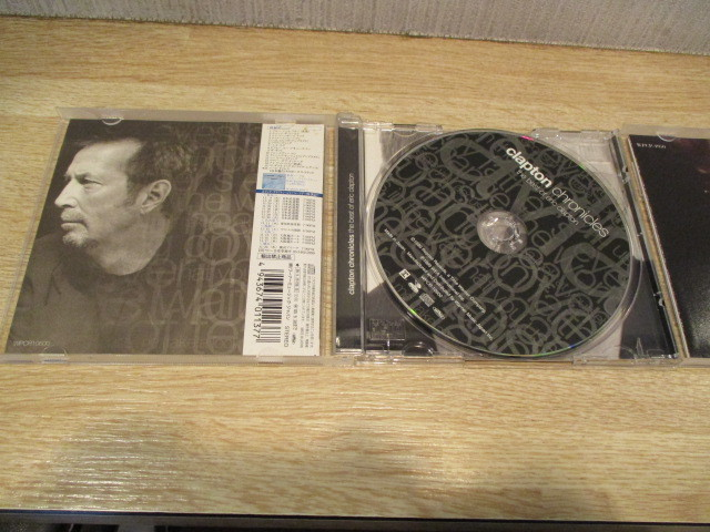 2CD エリック・クラプトン/ BEST OF と アンプラグド~アコースティック・クラプトン 歌詞・対訳付き。_画像7