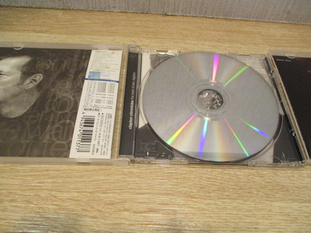 2CD エリック・クラプトン/ BEST OF と アンプラグド~アコースティック・クラプトン 歌詞・対訳付き。_画像9