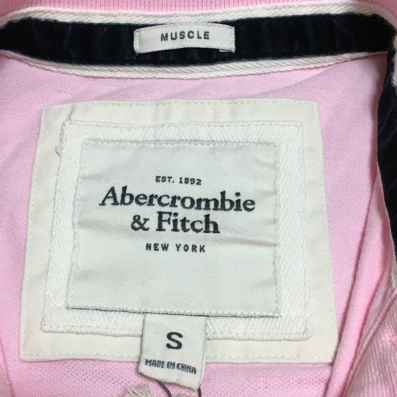 《郵送無料》■Ijinko◆新品☆アバクロンビー&フィッチ ( Abercrombie & Fitch)muscle S サイズ半袖ポロシャツ