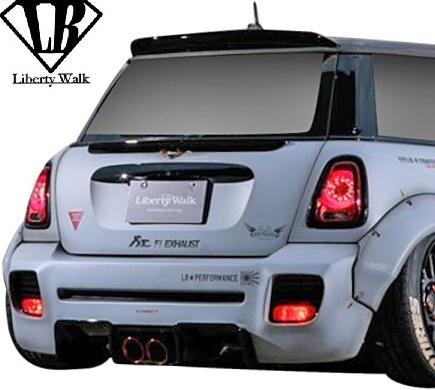 【M's】R56 ミニ ワン/クーパー/クーパーS (2006y-2013y) Liberty Walk LB トランクウイング / BMW MINI FRP リバティーウォーク エアロ_画像2