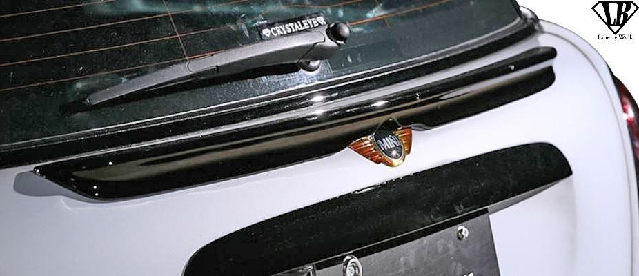 【M's】R56 BMW ミニ ワン/クーパー/クーパーS (2006y-2013y) Liberty Walk LB トランクウイング / MINI FRP リバティーウォーク エアロ_画像1
