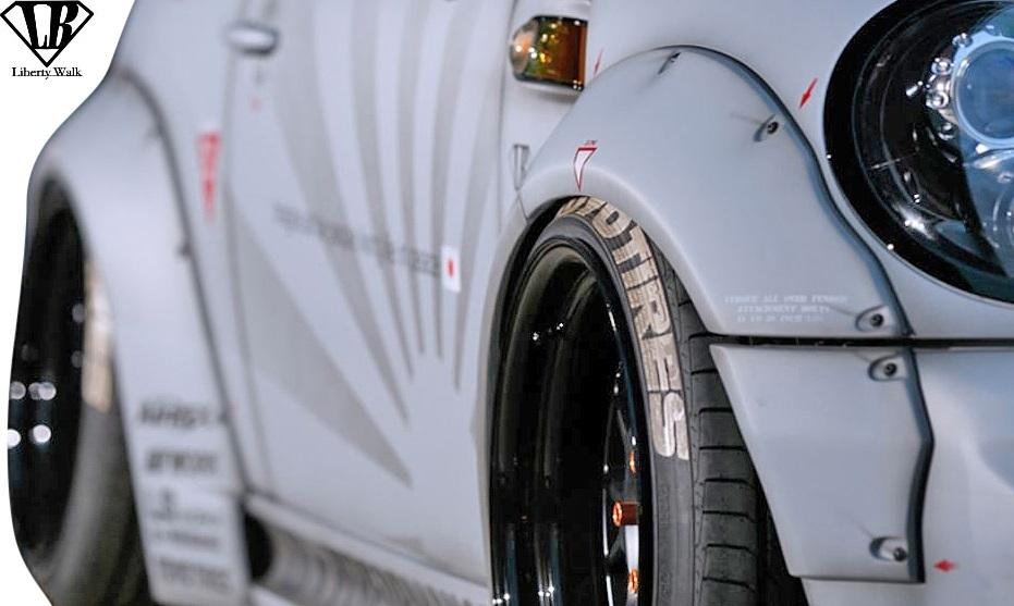 【M's】BMW R56 ミニ クーパーS (2006y-2013y) lb★nation WORKS コンプリートボディキット 8点 // Liberty Walk リバティーウォーク_画像9