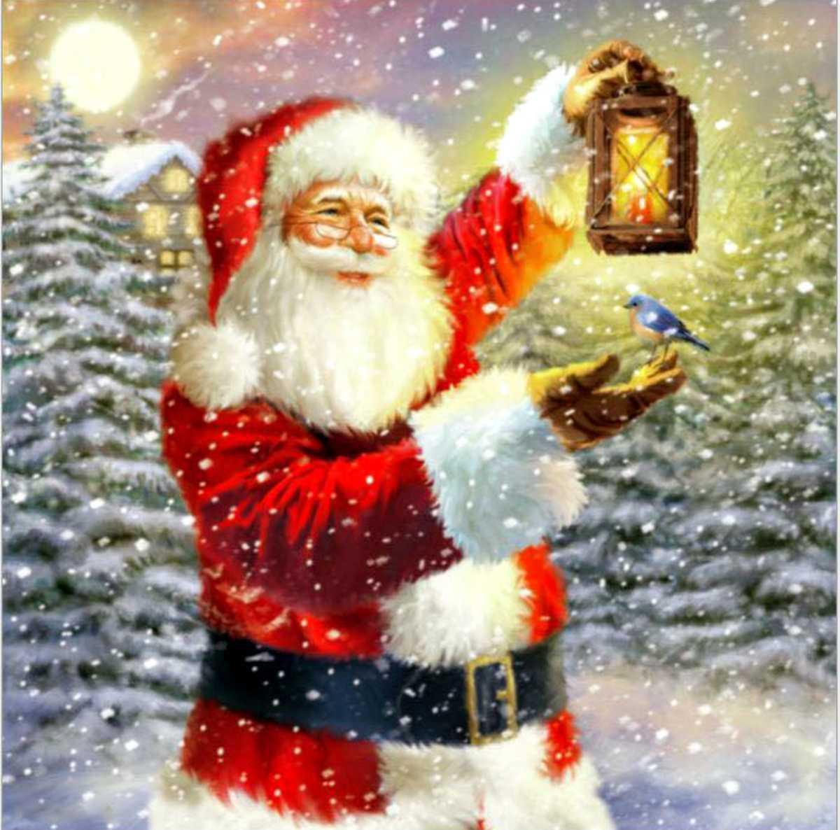 ダイヤモンドアート クリスマス サンタクロース 初心者 ダイアモンドペインティング ビーズ刺繍キット モザイク クロスステッチ