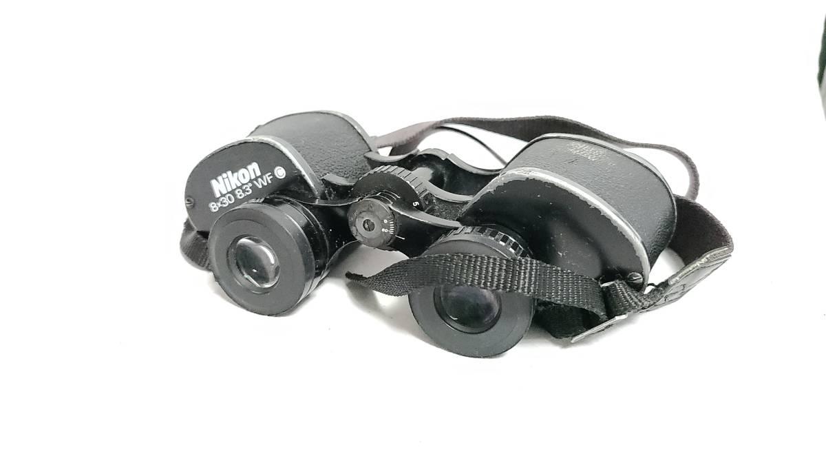 送料無料♪【Nikon双眼鏡】ニコン 双眼鏡 8×30 8.3°WF_画像4
