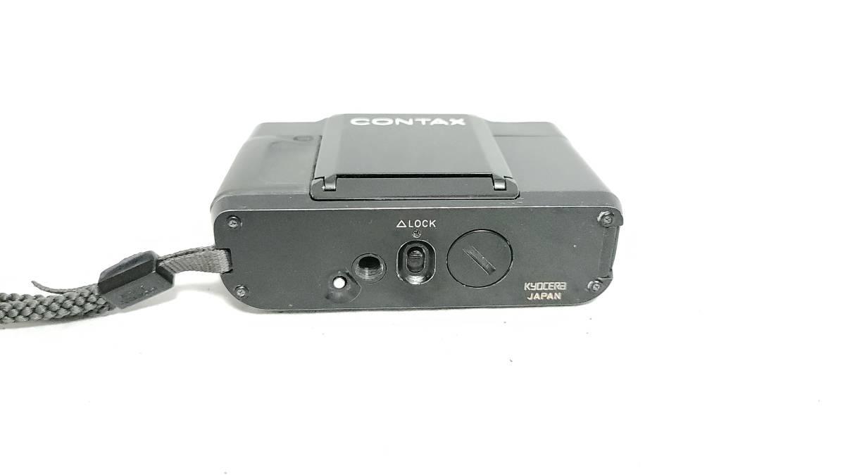 送料無料♪動作良好【CONTAXフィルムカメラ】コンタックス T Carl Zeiss Sonnar 38mm F2.8_画像6