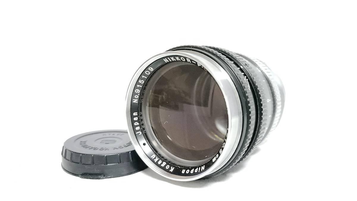 送料無料♪動作良好【Nippon Kogakuレンズ】日本光学 Nippon Kogaku NIKKOR-P・C 10.5cm F2.5 Sマウント  現状品_画像1