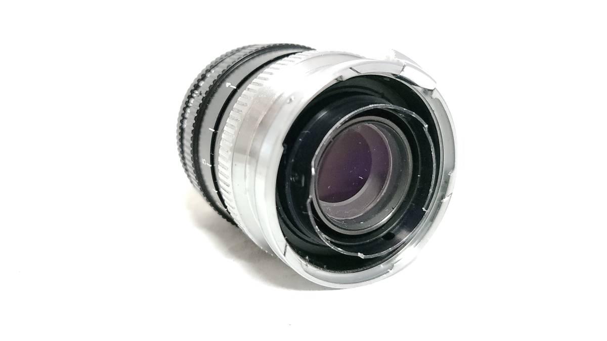 送料無料♪動作良好【Nippon Kogakuレンズ】日本光学 Nippon Kogaku NIKKOR-P・C 10.5cm F2.5 Sマウント  現状品_画像5