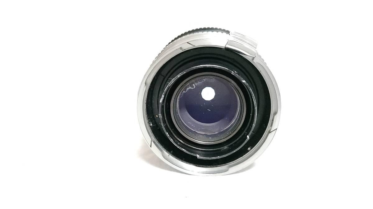 送料無料♪動作良好【Nippon Kogakuレンズ】日本光学 Nippon Kogaku NIKKOR-P・C 10.5cm F2.5 Sマウント  現状品_画像6