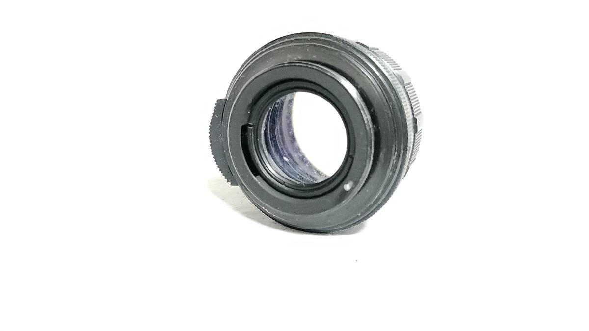 送料無料♪動作品【Asahi Opt.Co. Auto-Takumar 55mm F1.8 M42マウント レンズ】現状品_画像4