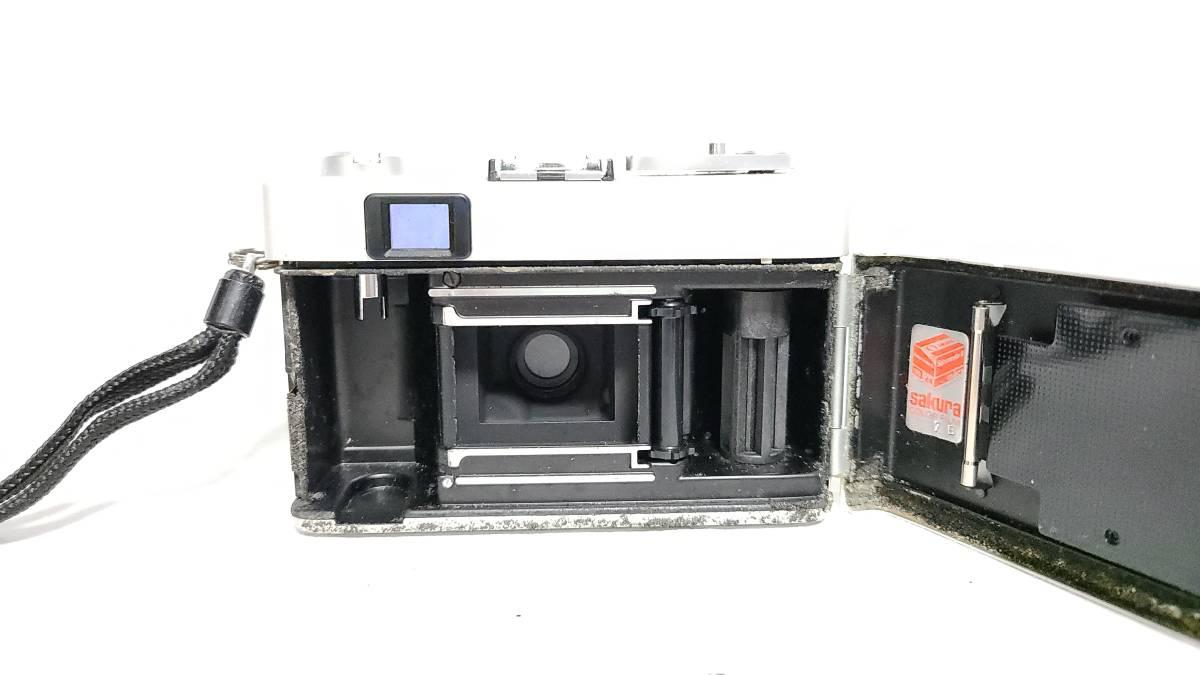 送料無料♪動作良好【KONICAフィルムカメラ】コニカ KONICA C35 E&L 38mm F2.8 コンパクトフィルムカメラ  _画像8