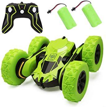 ラジコンカー 電動 リモコンカー こども向け ラジコン オフロード 360度回転 四輪駆動 おもちゃ